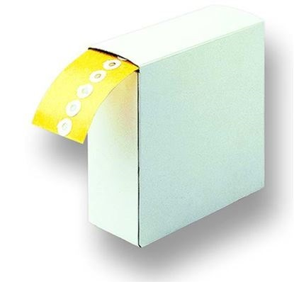 Adhesive Rings, double sided adhesive, outer diameter 30mm, inner diameter 15mm (roll of 500)