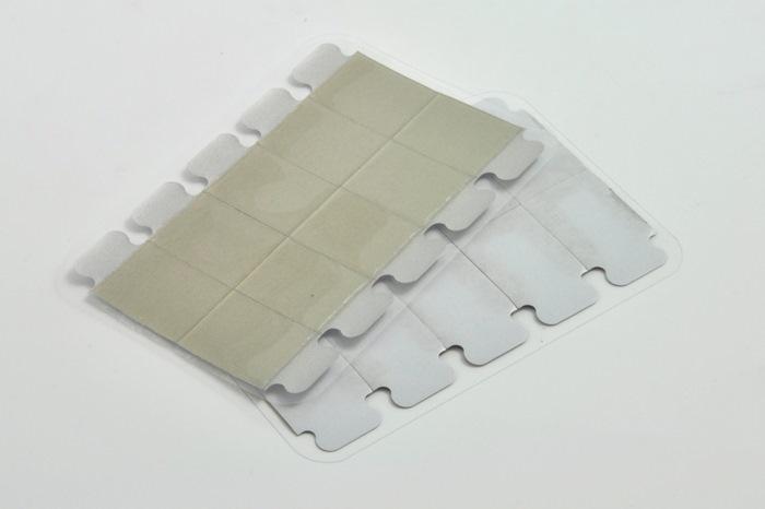 Disposable ECG / EKG Tab Electrode, Conductive adhesive 20x34mm (Model 241014)(Bag of 100 set)