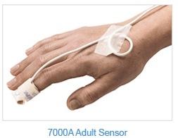 Disposable Nonin Adult Flexi-Form® III SpO2 Sensor 100cm cable, Box of 24, model 7000A