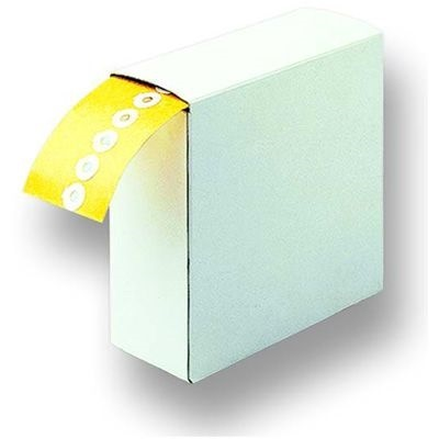 Double Adhesive Rings 20mm x 8mm roll of 500 pc.