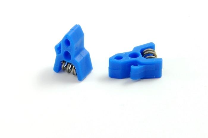 ELC/Leadwire Clip Blue 12/PKG