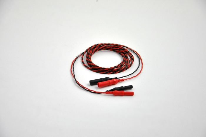 Extension Cable, twisted pair, 150cm cable (black & Red color)
