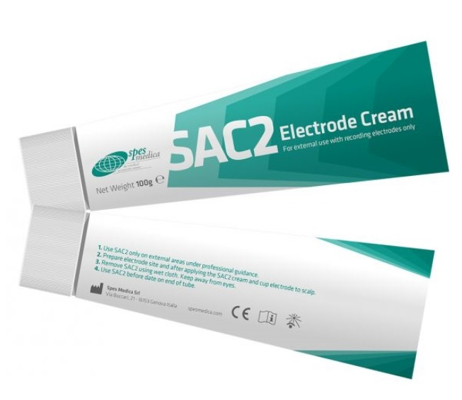 Gel, SAC2 Low Impedance Electrode Cream, 100g. (Can be used instead of EC2 gel)