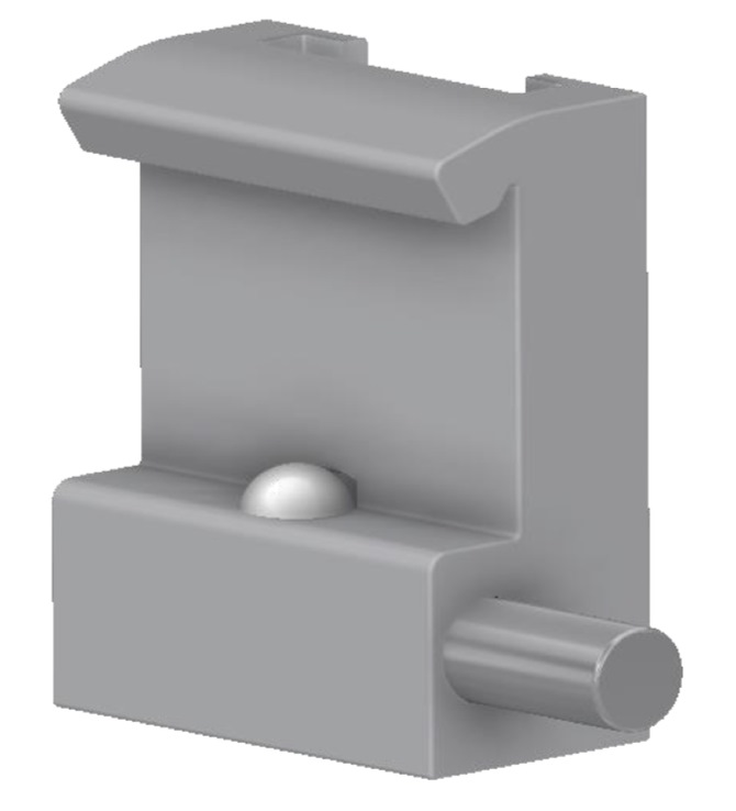 Tuxedo - Claw with T-trace, for 10x30mm Medical-Rail