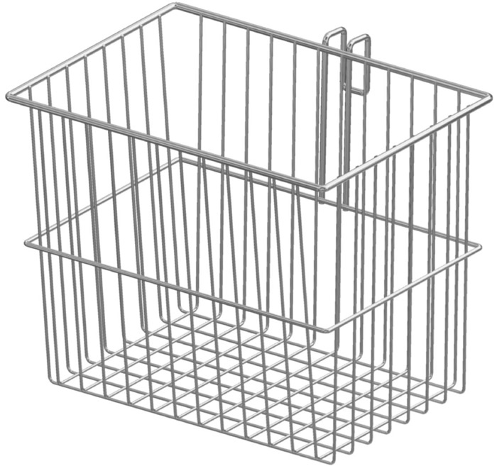 Tuxedo Accessories Basket 6-liter (W231mm, D161, H242mm) for Trolley/Cart