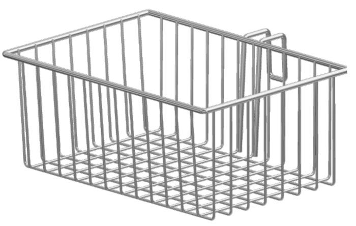 Tuxedo Accessories Basket 7-liter (W326mm, D217mm, H132mm) for Trolley/Cart
