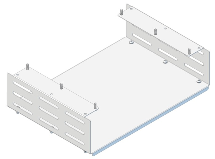 Tuxedo Box (H115mm x W460mm x D320) for Trolley