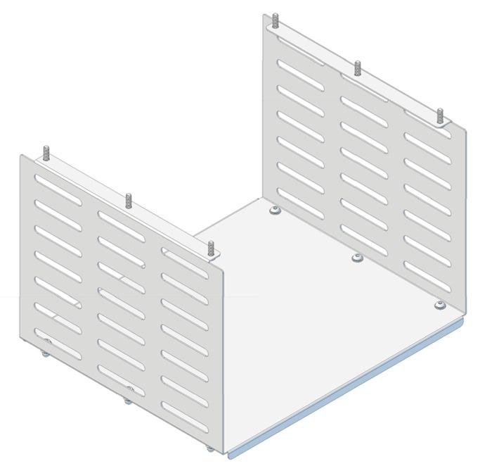 Tuxedo Box (H254mm x W380mm x D320) for Tuxedo Trolley / Cart