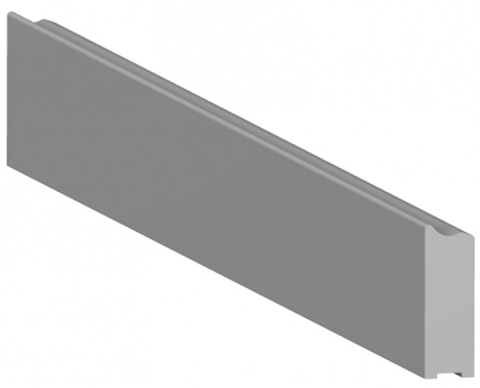 Tuxedo Medical-Rail 10x30mm (Custom length: 0-3000mm incl. End-plugs) - Specify length in mm with order