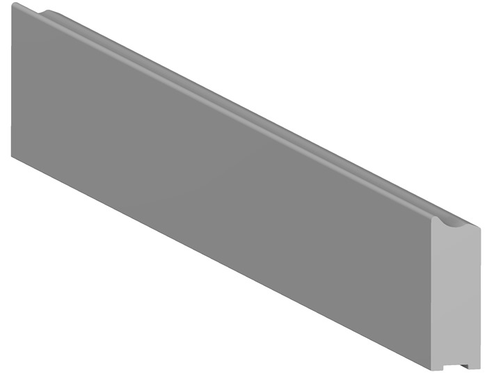 Tuxedo Medical-Rail 10x30mm (length 440mm incl. End-plugs) for Trolley
