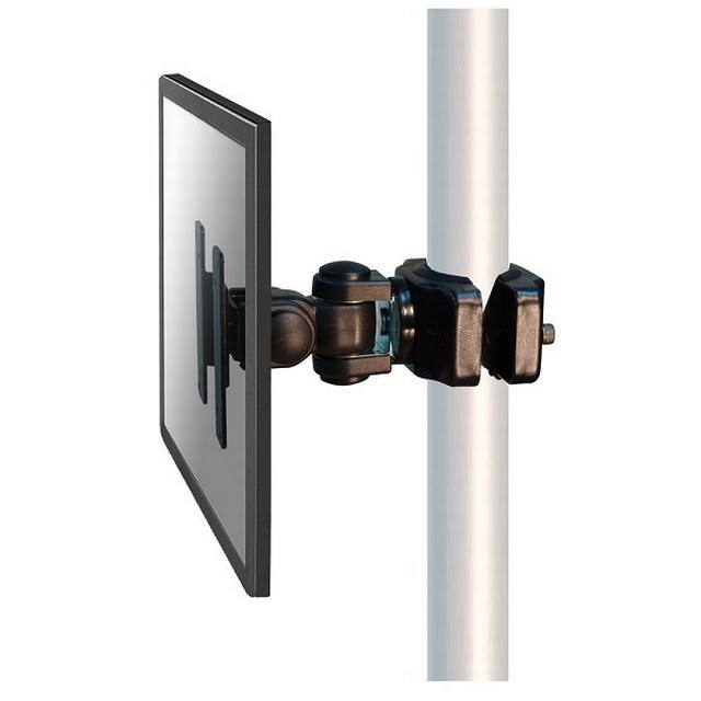 Tuxedo Pole-Clamp with VESA Mounting for ICU trolley (Color black)