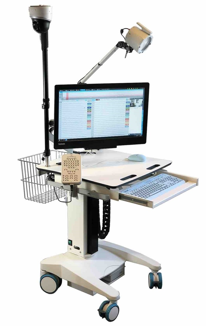 Tuxedo Trolley - Stratus EEG configuration - Electrically Height Adjustable (No hardware - trolley only) *